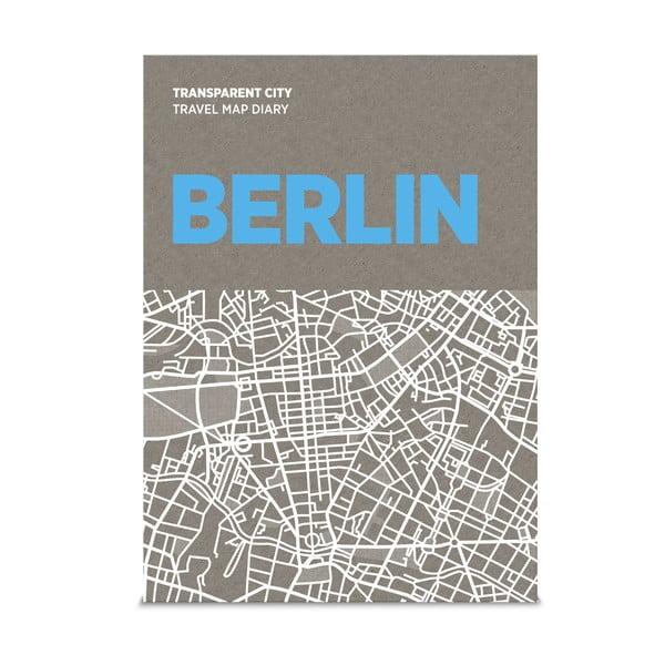 Mapa na popisky Palomar Transparent City Berlín