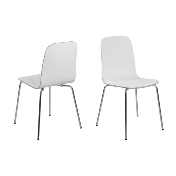 Jídelní židle Bjoorn, bílá