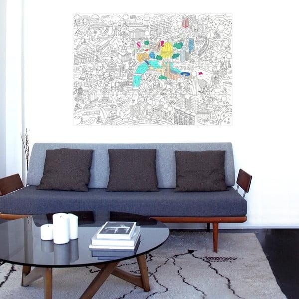 Omalovánka OMY London (70 x 100 cm)