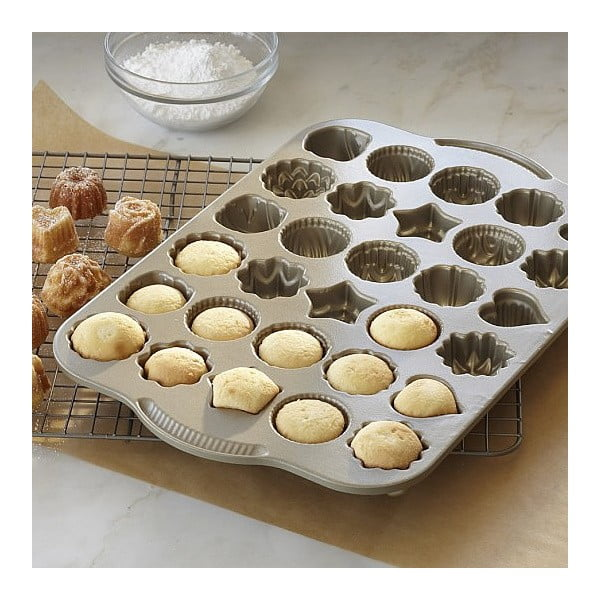 Set formy na bábovku Rondo a formy na čajové pečivo a čokoládu
