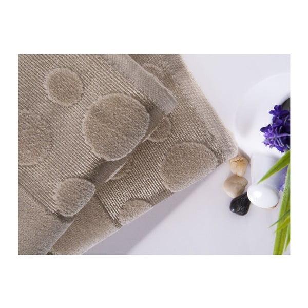 Sada 2 ručníků Tropical Beige, 50x90 cm