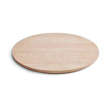 Tavă pentru servit din lemn de arțar Kähler Design Kaolin, ⌀ 24 cm de la Kähler Design