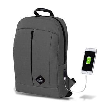 Rucsac cu port USB My Valice GALAXY Smart Bag, gri de la Myvalice