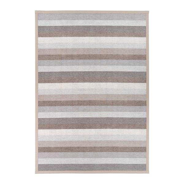 Nehatu Beige bézs kétoldalas szőnyeg, 80 x 250 cm - Narma