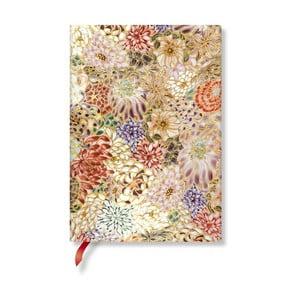 Zápisník s měkkou vazbou Paperblanks Kikka, 13x18cm
