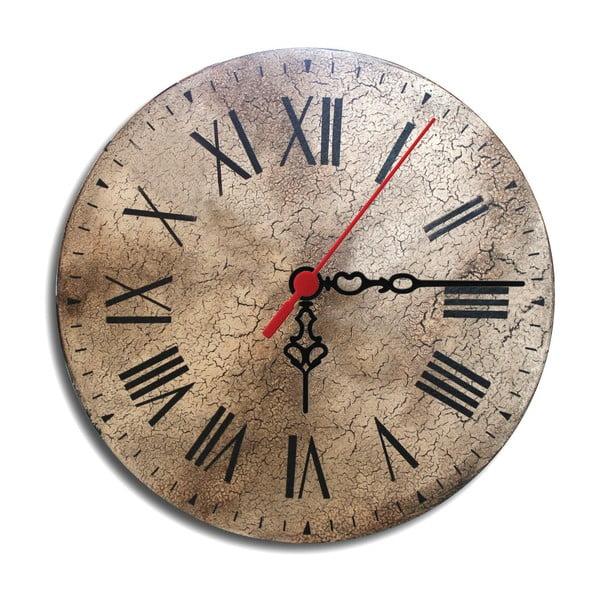Nástěnné hodiny Crackit, 30 cm