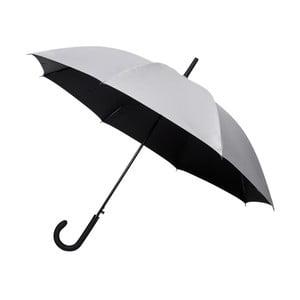 Deštník ve stříbrné barvě Ambiance Falconetti Gris Argent, ⌀105cm