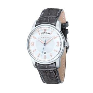 Pánské hodinky Cross Palatino Silver White, 42 mm