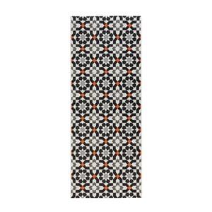 Černý kuchyňský běhoun Zala Living Mosaic, 80x200cm