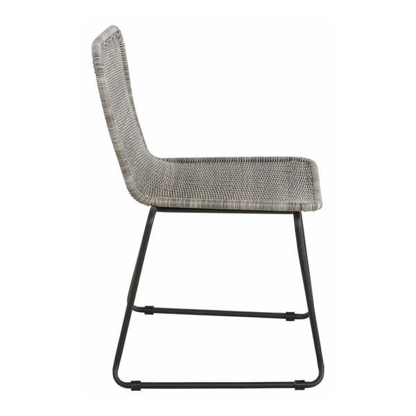 Sada 2 šedých jídelních židlí Støraa Paprika