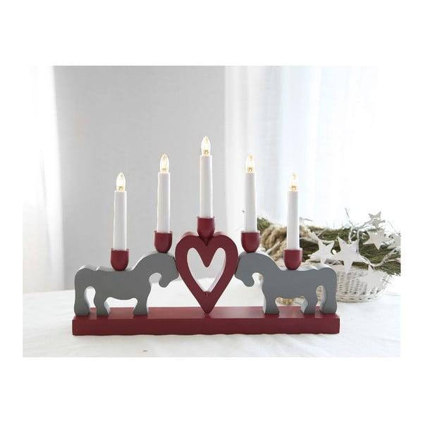 Svítící dekorace Leksand