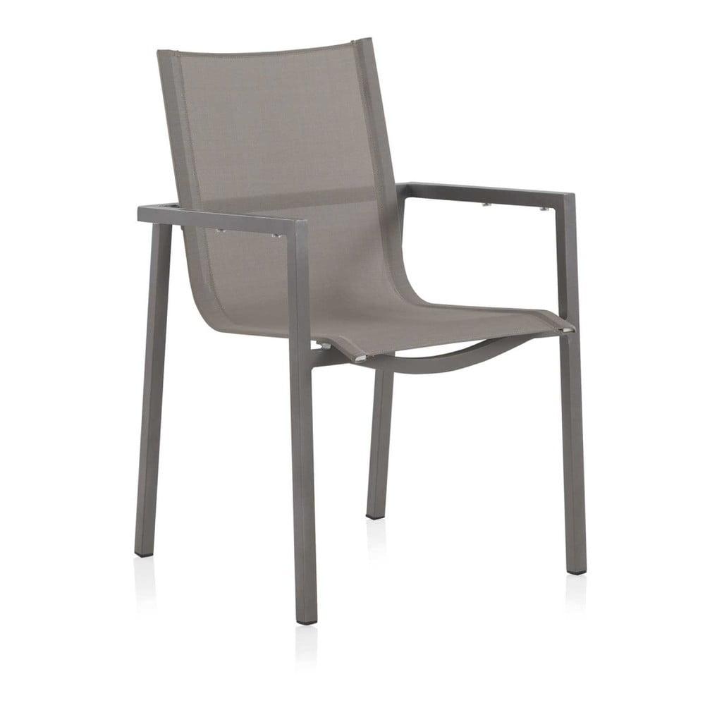 Sada 2 šedých zahradních židlí Geese Marcha