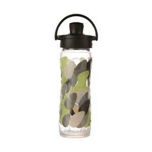 Sticlă de voiaj, din sticlă cu protecție din silicon, Lifefactory Envy Activ Premium, 475 ml