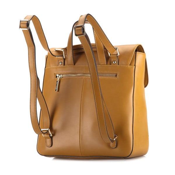 Kožená kabelka/batůžek Elegance Honey