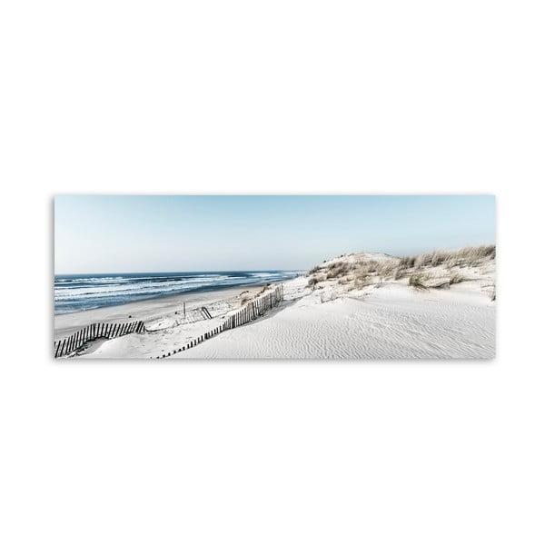 Obraz na plátně Styler Beach, 150 x 60 cm