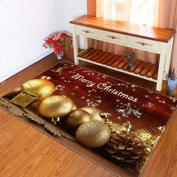 Covor Vitaus Christmas Period Balls, 50 x 80 cm