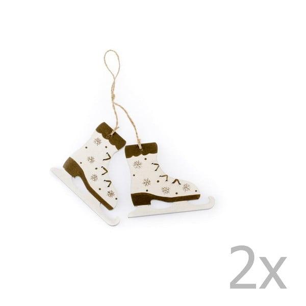 Leah korcsolya formájú függő karácsonyi dekoráció - Dakls