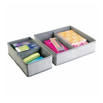 Set 2 organizatoare pentru sertar iDesign Aldo 4S imagine