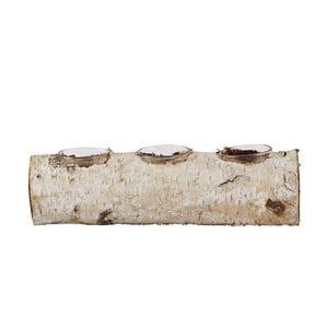 Stojánek na čajovou svíčku Birch, 23 cm