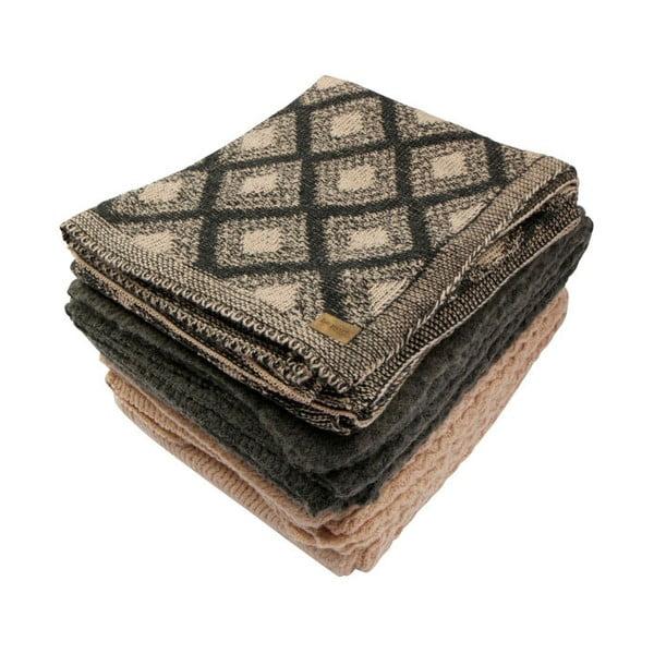 Pătură De Eekhoorn Second Skin, 130 x 170 cm, gri maro