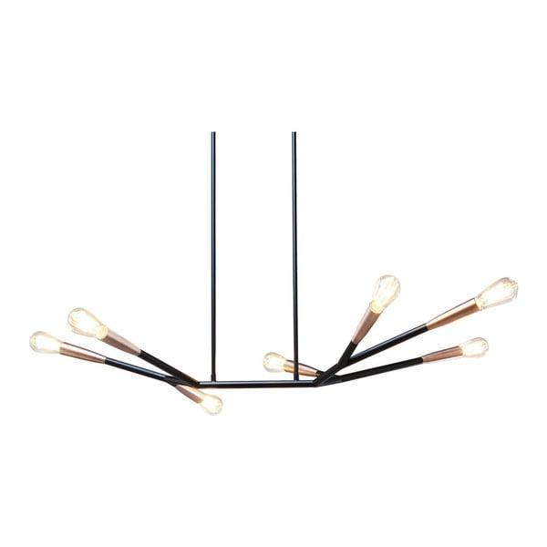 Černé stropní svítidlo Kare Design Sette