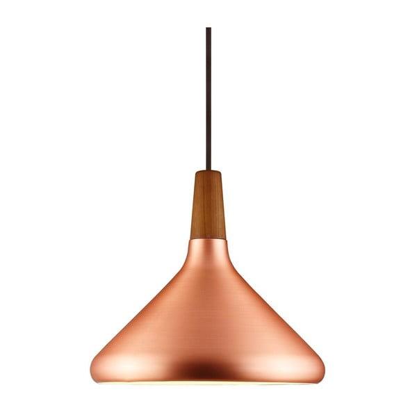Závěsné svítidlo Float 27x27 cm, měděná