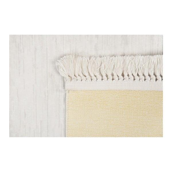 Sametový koberec Deri Dijital Grey Framo, 80x300cm