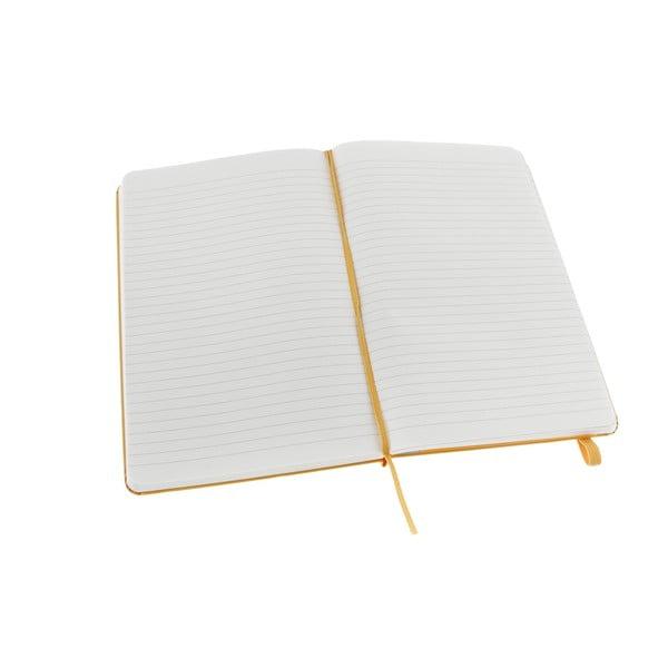 Zápisník Moleskine XS Yellow, linkovaný