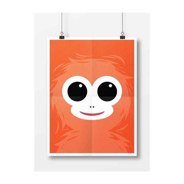 Plakát Opice, A4