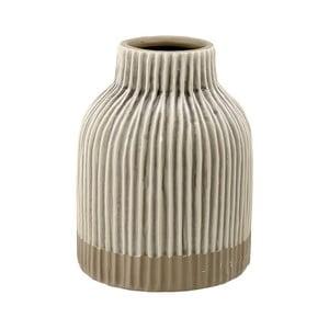 Vază din gresie ceramică Ladelle Nori, bej