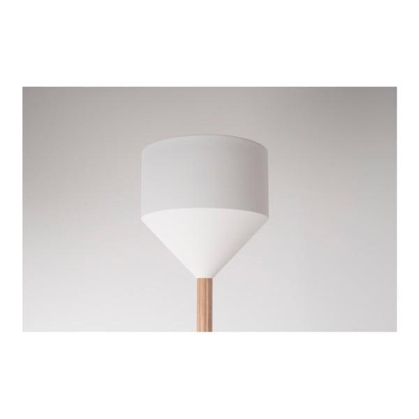 Bílá stojací lampa Zuiver Torch