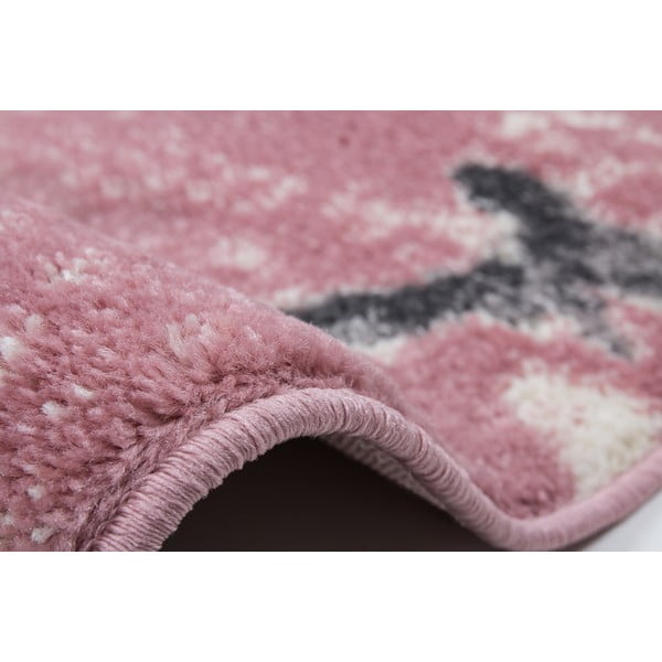 Koberec Playa 80x150 cm, růžový