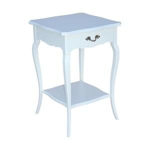 Odkládací stolek Arched, bílý