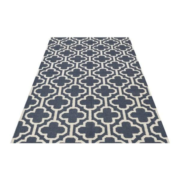 Vlněný koberec Penelope Dark Grey, 140x200 cm