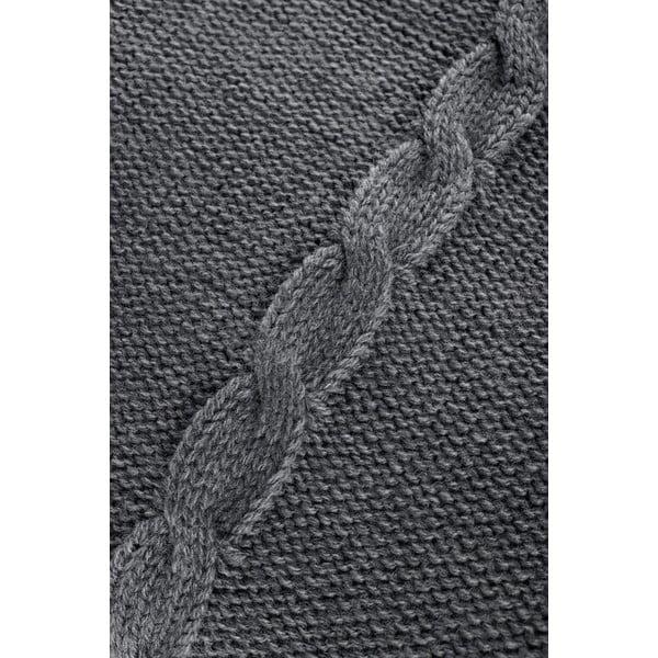 Pletená deka Fancy Grey, 130x170 cm