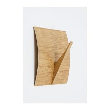 Cuier de perete din lemn masiv Woodman Rack Naki Oak de la Woodman