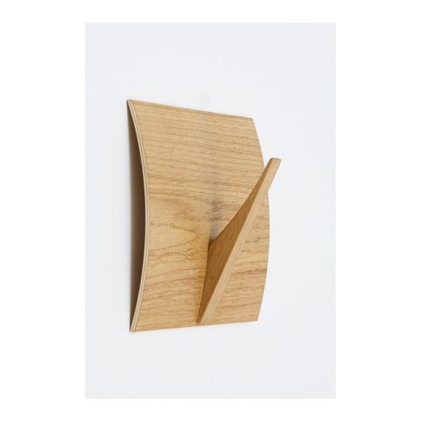 Rack Naki Oak tömörfa akasztó - Woodman