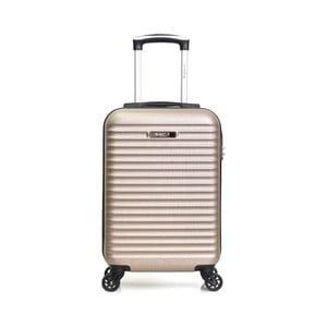 Béžový příruční kufr na kolečkách BluestarAtlanta, 32l