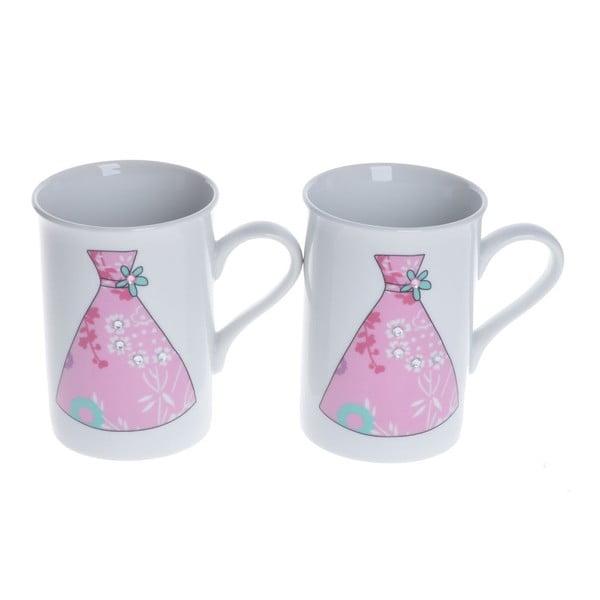 Porcelánové šálky Sukně, 2 ks