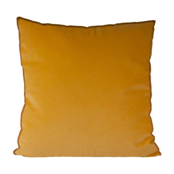 Pernă din bumbac PT LIVING, 60 x 60 cm, galben