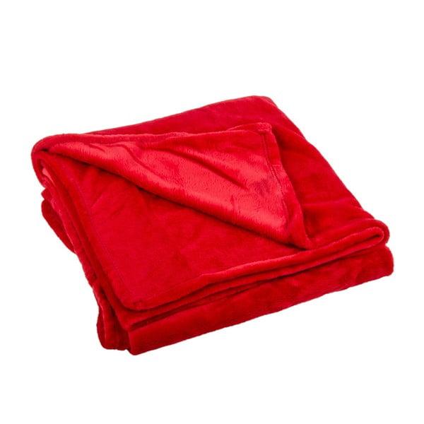 Pléd Toison Red, 125x150 cm