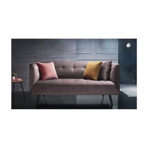 Canapea pentru 3 locuri Bobochic Paris, roz