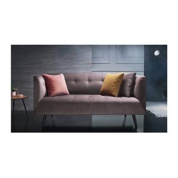 Canapea pentru 3 locuri Bobochic Paris roz