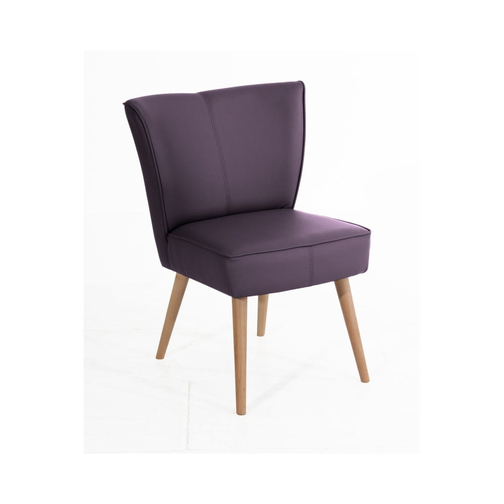 fotoliu max winzer beni imitation mov bonami. Black Bedroom Furniture Sets. Home Design Ideas