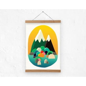 Poster Two Peaks, vel. A3