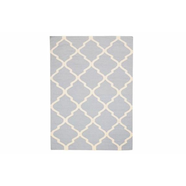 Ručně tkaný koberec Kilim Sky Blue, 160x230 cm