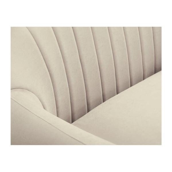Canapea pe colț Scandi by Stella Cadente Maison Comete, pe partea dreaptă, bej