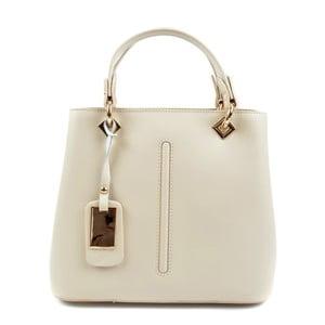 Béžová kožená kabelka Roberta M Mismono