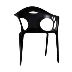 Černá jídelní židle Canett Latino