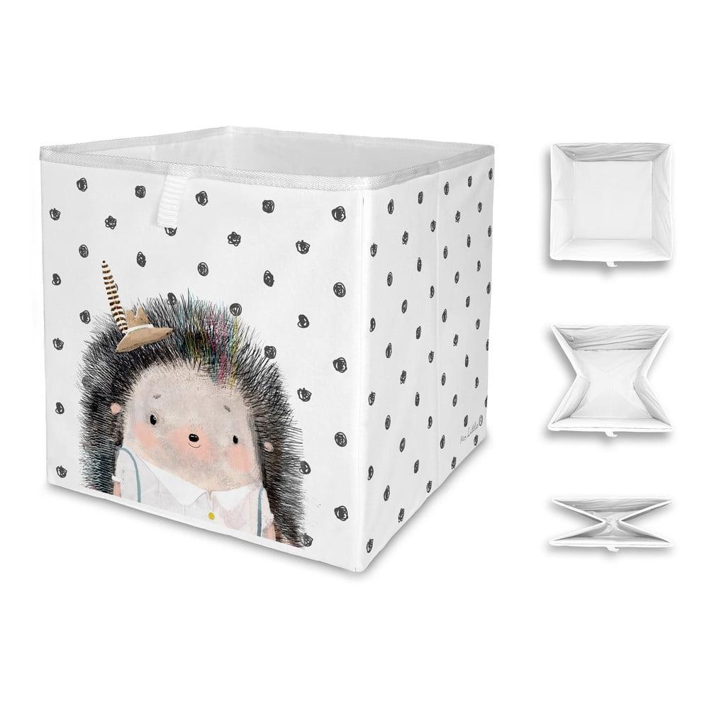 Dětský úložný box Mr. Little Fox Hedgehog Boy